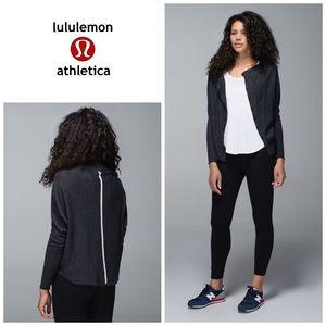 Lululemon After Class cardigan - black heather